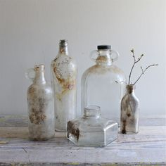 Antique+and+Vintage+Bottle+Display+by+ethanollie+on+Etsy,+$48.00