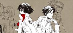 [Shingeki No Kyojin] Mikasa & Levi Ackerman