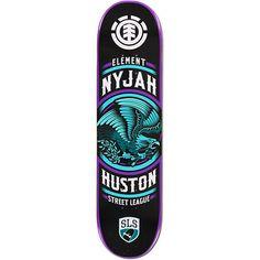 Element x Street League Nyjah Huston 8.0 Skateboard Deck
