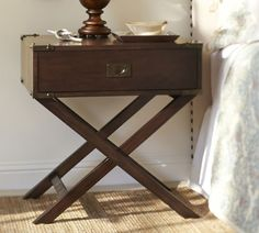 Pottery barn bedside table