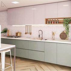 Home Interior Colors - Kitchen Decor Simple Kitchen Design, Ikea Kitchen Design, Home Decor Kitchen, Kitchen Living, Interior Design Kitchen, New Kitchen, Home Kitchens, Tuscan Kitchens, Luxury Kitchens