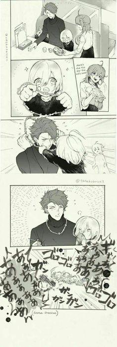Mashu and Papa Lancelot