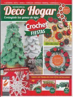 Butterfly Creaciones: revista deco hogar crochet fiestas / evia ediciones