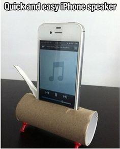 Homemade loud speakers
