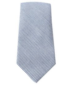Little Stripe - Blue (Cotton Skinny) | Ties, Bow Ties, and Pocket Squares | The Tie Bar {BRETT?}