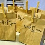 Great Hieroglyph activity -- have their names on the bags, then they use the bags to make their cartouches