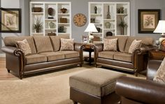 Color: Brown Material: Fabric Condition: New. Measurements: Sofa - L92 X H40 X…