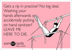YES. #gymnastics #rips
