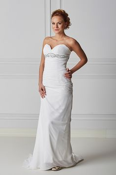 Mecco Hääpuku MW10050 One Shoulder Wedding Dress, Wedding Dresses, Fashion, Bride Dresses, Moda, Bridal Wedding Dresses, Fashion Styles, Weding Dresses, Dress Wedding