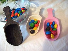 Candy Scoop   Wooden Scoop for Candy Buffets by UniqueChicDesigns, $5.00
