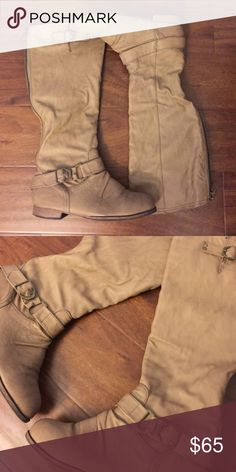 Cathy Jean Brown Boots Worn a few times. NO TRADES Cathy Jean Shoes Combat & Moto Boots