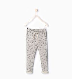 ZARA - KIDS - Printed harem trousers