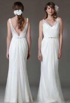 vestido de noiva com decote nas costas - Pesquisa Google