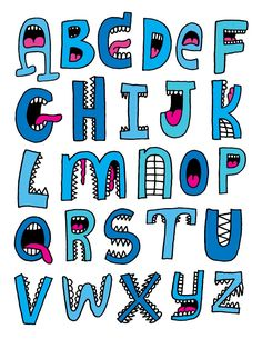Unique lovely cool font alphabet letters We are want to say thanks if you like to share this post to Cool Fonts Alphabet, Hand Lettering Alphabet, Doodle Lettering, Alphabet Design, Alphabet Art, Creative Lettering, Graffiti Lettering, Alphabet And Numbers, Typography