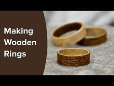 How to Make Wood Rings from Veneer | The Drunken Woodworker