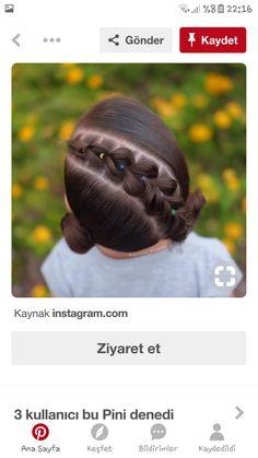 Girls Hairdos, Kids Braided Hairstyles, Teen Hairstyles, Little Girl Hairstyles, Braid Styles, Short Hair Styles, Natural Hair Styles, Cosmo Girl, Hair Due