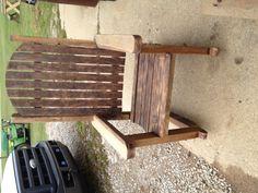Barn wood rocking chairs