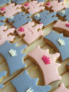 Prenses kurabiye, taç kurabiye, princess cookies.. She bee pasta&kurabiye She bee cake&cookie