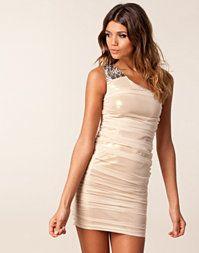 Corinne One Shoulder Dress/ Te Amo