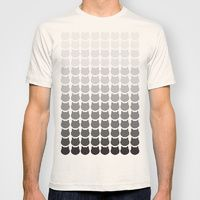 T-shirt featuring Mono Cats by Megan Hillier