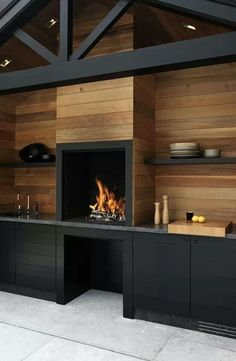 Awesome fireplace!
