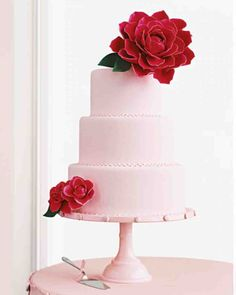 Your wedding cake is the pinnacle of your reception, and almost every guest snaps a shot of it -- why not infuse it with a pop of color? Here, we've pulled together our most colorful wedding cake designs in every hue of the rainbow.