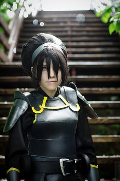 Avatar Legend of Korra: Toph Bei Fong (Chief of Police version) #cosplay #avatarlegendofkorra I love Tophwei!