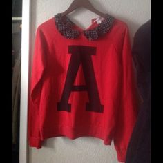 NWOT 'A' Sweater New, just been hanging in my closet Forever 21 Sweaters Crew & Scoop Necks