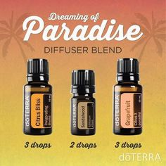 """Summer sandals and citrus all wrapped up in a diffuser blend you don't have to go all the way to the Bahamas to experience. #doterradiffuserrcipes #summer…"""