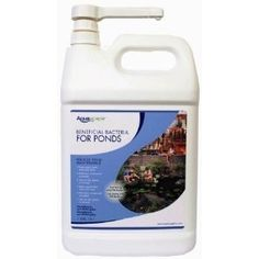 Aquascape 1 gal gal AquaClearerTM Extreme Liquid Bacteria # 29303 by Aquascape. $79.98. Clear Up Green Water & Help Prevent Algae Growth. Great for seeding biological filters in the spring - All Natural Ingredients!. Available In Other Sizes and Formulations. Safe For Plants & Fish. New Formulation - 1 gallon treats up to 80,000 gallons. AquaClearer Extreme Liquid has been reformulated and renamed as of 4/1/2010.  It is now called Beneficial Bacteria for Ponds/Liq...