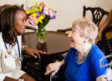 Knollwood Military Retirement Community offers CCRC, Independent living and Nursing & Rehab needs.  #SourceBook