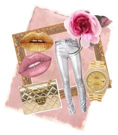 """""""#glitterlips"""" by mindofiris on Polyvore featuring beauty, Rothko, Étoile Isabel Marant, Gucci, Chanel and Rolex"""