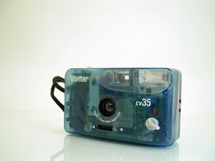Vivitar cv35 Blue See-Through 35mm Film Camera Wide Angle Lens #Vivitar - FOR SALE HERE --> http://www.ebay.com/sch/pealfaro/m.html?_nkw=&_armrs=1&_ipg=&_from=