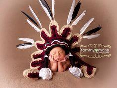 Seminole University of Florida Indian Headdress by MimiLaCreations, $99.00