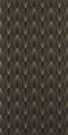 Most up-to-date Photos Pattern Design - Cabaret Wallpaper Lacquer 882 by Catherine Martin by Mokum - CoDesign Magazine Wallpaper Texture, Art Deco Wallpaper, Pattern Wallpaper, Motif Art Deco, Art Deco Design, Invitaciones Art Deco, Textile Patterns, Print Patterns, Art Nouveau