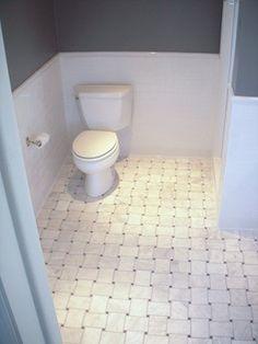 Marble Bathroom Floor Tile stunning bathroom floor composed of marble basketweave tiles and