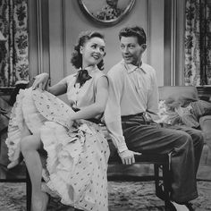 """Debbie Reynolds and Donald O'Connor in """"I Love Melvin"""", 1953 Respect Your Elders, Donald O'connor, Debbie Reynolds, Love Film, Learn To Dance, Tap Dance, Dancing In The Rain, Beauty Queens, Old Hollywood"""
