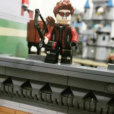 Searching the target.. #hawkeye #clintbarton #lego #legobricks #detectivesoffice