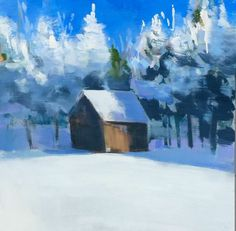 Hidden Cabin - Art Collector Maine Craig Mooney