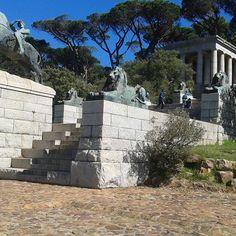 Rhodes memorial #CapeTown Green Park, Rhodes, Cape Town, Mount Rushmore, Southern, Community, Explore, Places, Travel