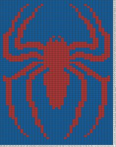 Tricksy Knitter Charts: red spider by GMLiska