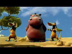 Happy Hippo Banana Boat Song Harry Belafonte Youtube Auguri