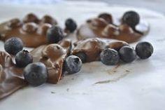 Raw Recipes with Raw Dessert Recipes and Raw Chocolate Recipes: Chocolate Recipes –Blueberry and Pistachio Raw Chocolate