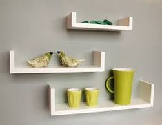 Image result for box shelves either side of fireplace