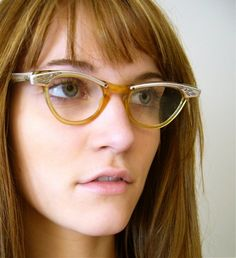 1950's Vintage Cat Eye Glasses from Shuron by jessjamesjake