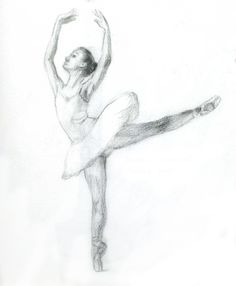 drawing of dancer | Sketches of dancers | Sun Ran's E-portfolio
