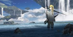 /r/Moescape is a place to post all of your favorite artworks and screen caps of cute Anime characters in their environment. The emphasis should. Cute Anime Character, Character Concept, Character Art, Concept Art, Fantasy Art Landscapes, Fantasy Landscape, Beautiful Fantasy Art, Fictional World, Cyberpunk Art