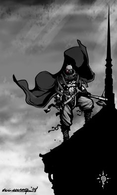 Mistborn - Steel Inquisitor by *Inkthinker on deviantART