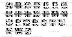 -: Alphabet SVG Files