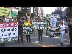 Também foi do dia 26-03-2017 Os Intervencionistas do Brasil lutando inca...
